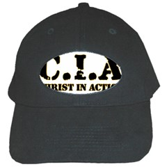 Christ In Action C I A Black Baseball Cap