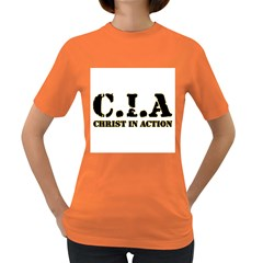 Christ In Action C I A Women s T Shirt (colored)