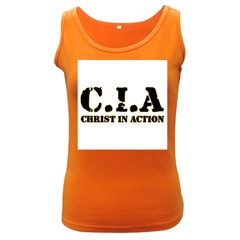 Christ In Action C I A Women s Tank Top (Dark Colored)
