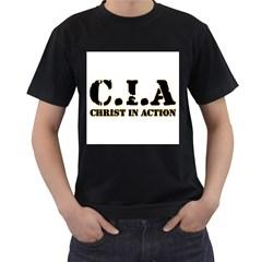 Christ In Action C I A Men s T Shirt (black)