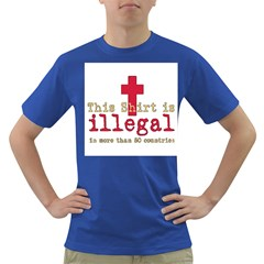 This Shirt Is Illegal Men s T Shirt (colored)