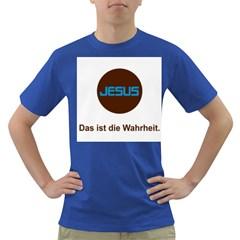 Jesus Das Ist Die Wahrheit Men s T Shirt (colored)