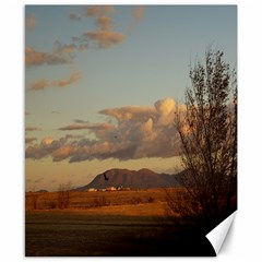 sunrise, edgewood nm Canvas 8  x 10