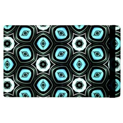 Pale Blue Elegant Retro Apple Ipad 2 Flip Case