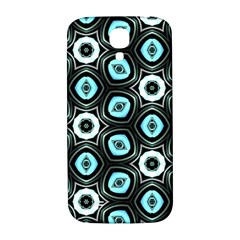 Pale Blue Elegant Retro Samsung Galaxy S4 I9500/I9505  Hardshell Back Case