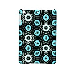 Pale Blue Elegant Retro Apple iPad Mini 2 Hardshell Case