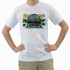 roslyncafe Men s T-Shirt (White)