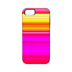 Colour Lines Apple iPhone 5 Classic Hardshell Case (PC+Silicone)