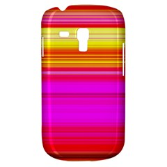 Colour Lines Samsung Galaxy S3 Mini I8190 Hardshell Case