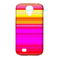 Colour Lines Samsung Galaxy S4 Classic Hardshell Case (PC+Silicone)
