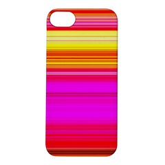 Colour Lines Apple Iphone 5s Hardshell Case