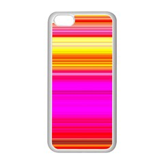 Colour Lines Apple Iphone 5c Seamless Case (white)