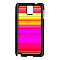 Colour Lines Samsung Galaxy Note 3 N9005 Case (Black)