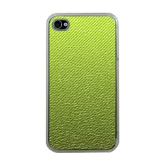 Green Lines Apple Iphone 4 Case (clear)