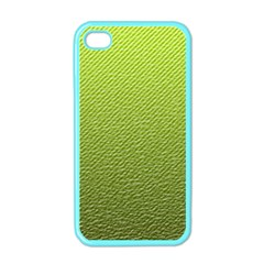 Green Lines Apple iPhone 4 Case (Color)
