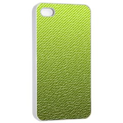 Green Lines Apple Iphone 4/4s Seamless Case (white)