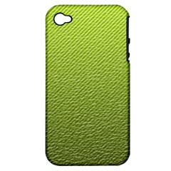 Green Lines Apple Iphone 4/4s Hardshell Case (pc+silicone)
