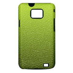 Green Lines Samsung Galaxy S II i9100 Hardshell Case (PC+Silicone)