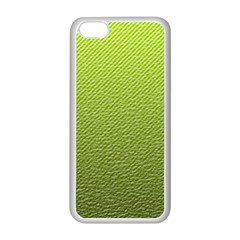 Green Lines Apple iPhone 5C Seamless Case (White)