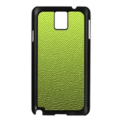 Green Lines Samsung Galaxy Note 3 N9005 Case (black)