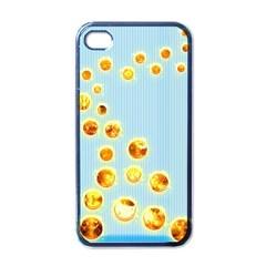 Fire Bubbles Apple Iphone 4 Case (black)