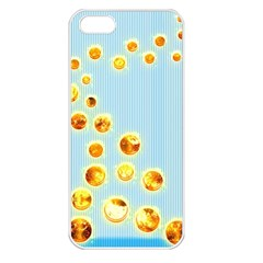 Fire Bubbles Apple Iphone 5 Seamless Case (white)