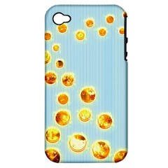 Fire Bubbles Apple iPhone 4/4S Hardshell Case (PC+Silicone)