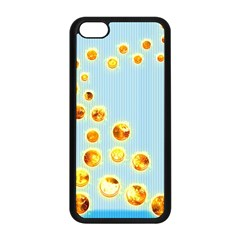 Fire Bubbles Apple iPhone 5C Seamless Case (Black)