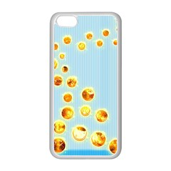 Fire Bubbles Apple iPhone 5C Seamless Case (White)