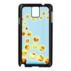 Fire Bubbles Samsung Galaxy Note 3 N9005 Case (black)
