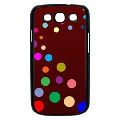 Bubbles Samsung Galaxy S III Case (Black)