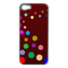 Bubbles Apple iPhone 5 Case (Silver)