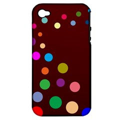 Bubbles Apple iPhone 4/4S Hardshell Case (PC+Silicone)