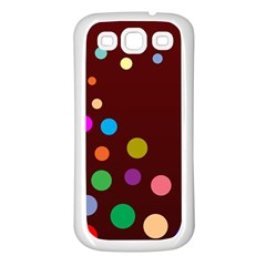 Bubbles Samsung Galaxy S3 Back Case (White)