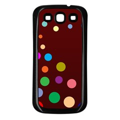 Bubbles Samsung Galaxy S3 Back Case (Black)