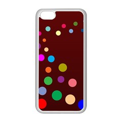 Bubbles Apple iPhone 5C Seamless Case (White)