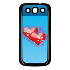 Hearts Samsung Galaxy S3 Back Case (black)
