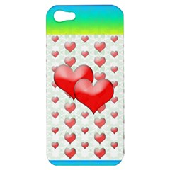 Hearts 2 Apple Iphone 5 Hardshell Case