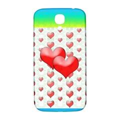Hearts 2 Samsung Galaxy S4 I9500/I9505  Hardshell Back Case