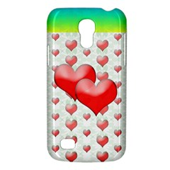 Hearts 2 Samsung Galaxy S4 Mini (GT-I9190) Hardshell Case
