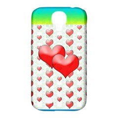 Hearts 2 Samsung Galaxy S4 Classic Hardshell Case (pc+silicone)