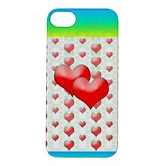 Hearts 2 Apple Iphone 5s Hardshell Case