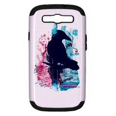 Qouth The Raven   Answer Your Phone  Samsung Galaxy S Iii Hardshell Case (pc+silicone)