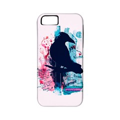 Qouth the Raven...Answer Your Phone. Apple iPhone 5 Classic Hardshell Case (PC+Silicone)