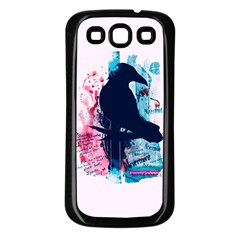 Qouth The Raven   Answer Your Phone  Samsung Galaxy S3 Back Case (black)