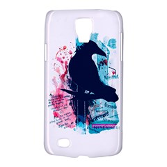 Qouth the Raven...Answer Your Phone. Samsung Galaxy S4 Active (I9295) Hardshell Case