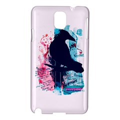 Qouth The Raven   Answer Your Phone  Samsung Galaxy Note 3 N9005 Hardshell Case