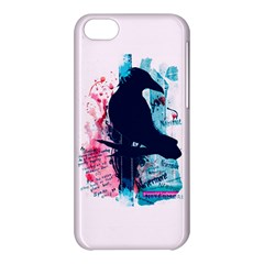 Qouth the Raven...Answer Your Phone. Apple iPhone 5C Hardshell Case