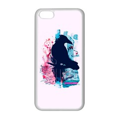 Qouth The Raven   Answer Your Phone  Apple Iphone 5c Seamless Case (white)