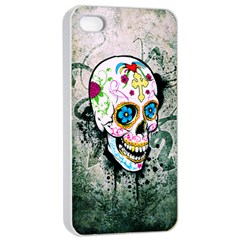 sUGAR sKULL Apple iPhone 4/4s Seamless Case (White)